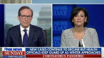 Chris Wallace Confronts Rochelle Walensky About Lack of Spikes at Sporting Events