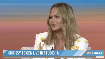 Chrissy Teigen shares she is 100 days sober on the Today Show