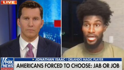 Jonathan Isaac blasts media coverage of vaccines with Will Cain on Fox News