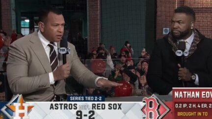 'F*ck Joe Biden' chant drowns ALCS postgame show on Fox