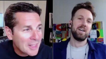 The Daily Show's Jordan Klepper SiriusXM host Dean Obeidallah