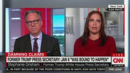 Stephanie Grisham on the Lead with Jake Tapper