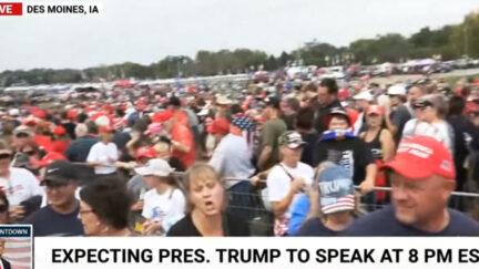 Trump Rally Chant Lets Go Brandon