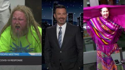 Jimmy Kimmel roasts anti-vaxxers in ruthless supercut