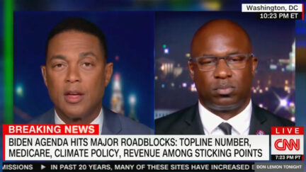 Don Lemon Questions Jamaal Bowman About Democrats Fighting