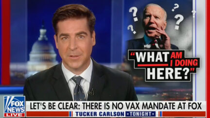 Jesse Watters: Fox News Hasn't Fired Anyone for Refusing Vaccine
